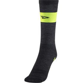 DeFeet Wooleator Team DeFeet Socken schwarz/gelb